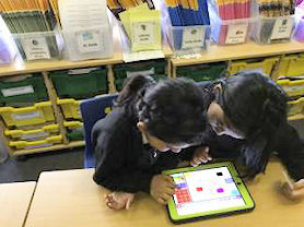 Using ipads and computers